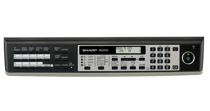 MX-B201D_Panel