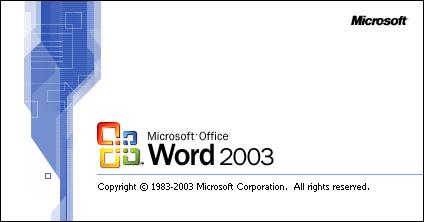 Word для windows xp 2003