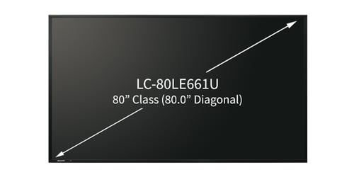 LC-80LE661U Size