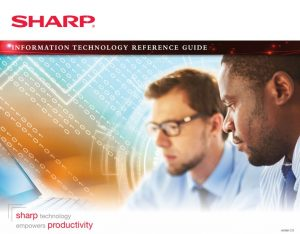 Click to download the Sharp IT Reference Guide